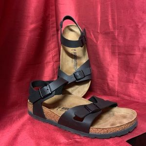Birkenstock Rio Birko-Flor Sandals Size 40/USA 10